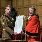 ATC Pirbright awarded Freedom of the Borough